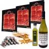 Lote San Valentín Productos Ibéricos y Vino Albariño